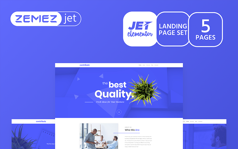 Wizarro - Business Consulting - Jet Elementor Kit