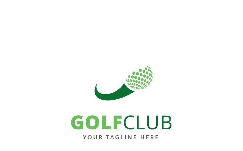 Golf Club Logo Template 70244