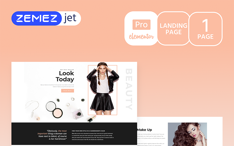 Gracia - Beauty Salon Pro Elementor Kit