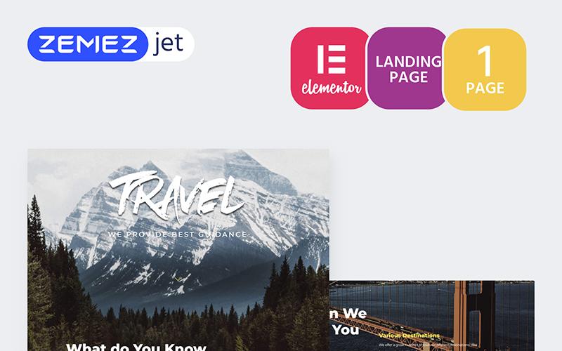 Tournet - Travel Agency Elementor Kit
