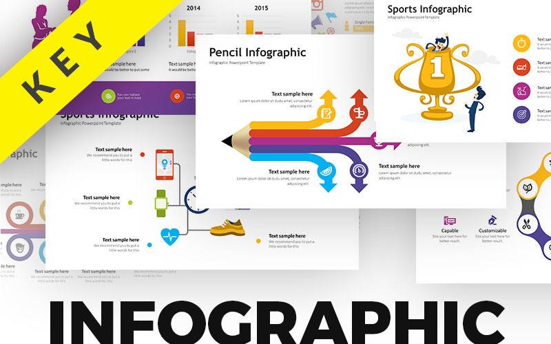 Пакет бизнес-инфографики - Актив - шаблон Keynote