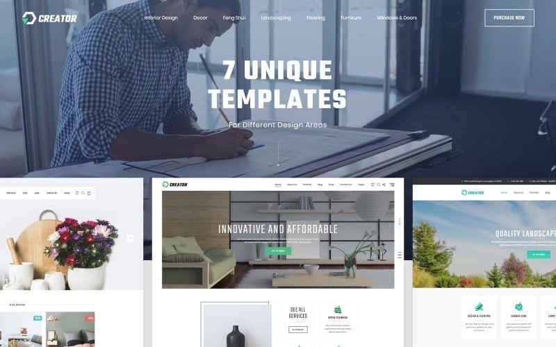 Creator - Design Multipurpose HTML5 Website Template