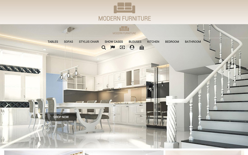 Modern Furniture 1.7 PrestaShop Theme