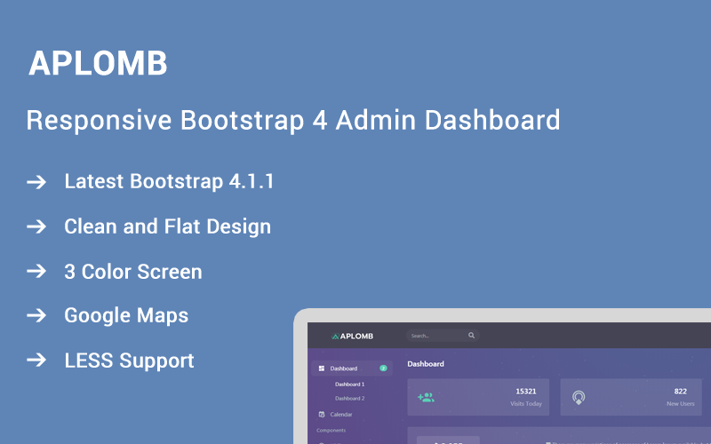 Aplomb - Responsive Bootstrap 4 Admin Template