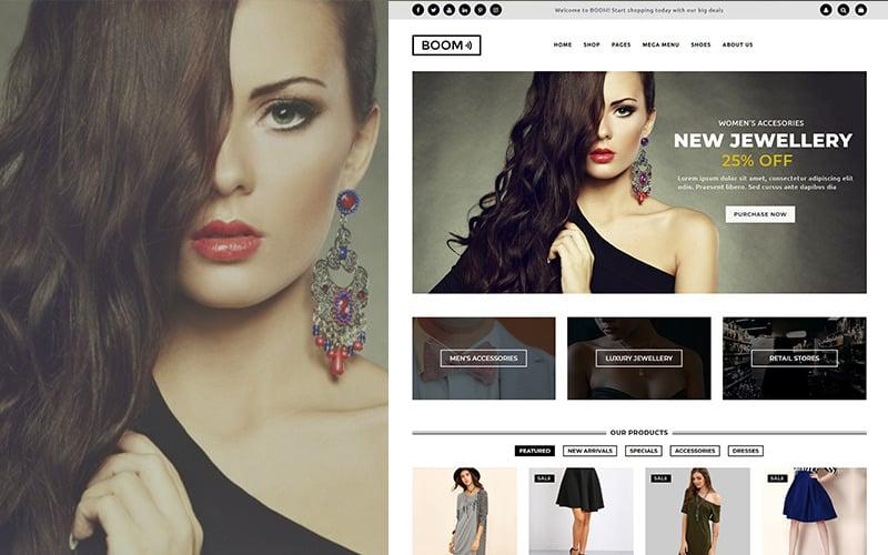 BOOM - Fashion & Accessories WooCommerce Theme