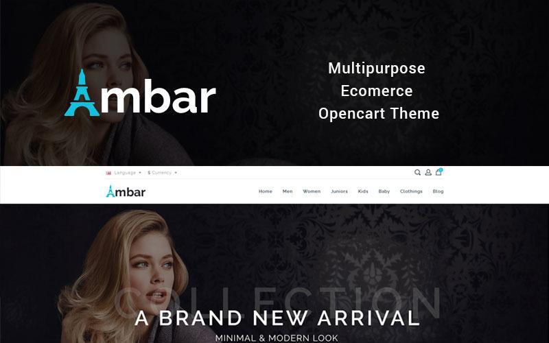 Ambar v1.0 - Responsive Multipurpose OpenCart Template