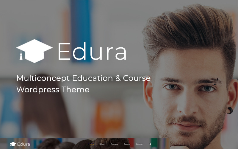 Edura - LearnPress Education WordPress Theme