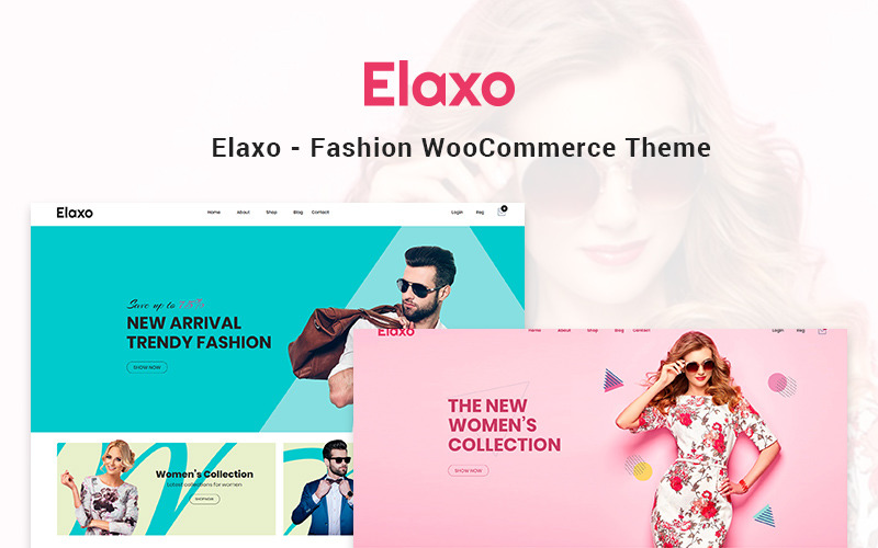 Elaxo - модная тема для WooCommerce