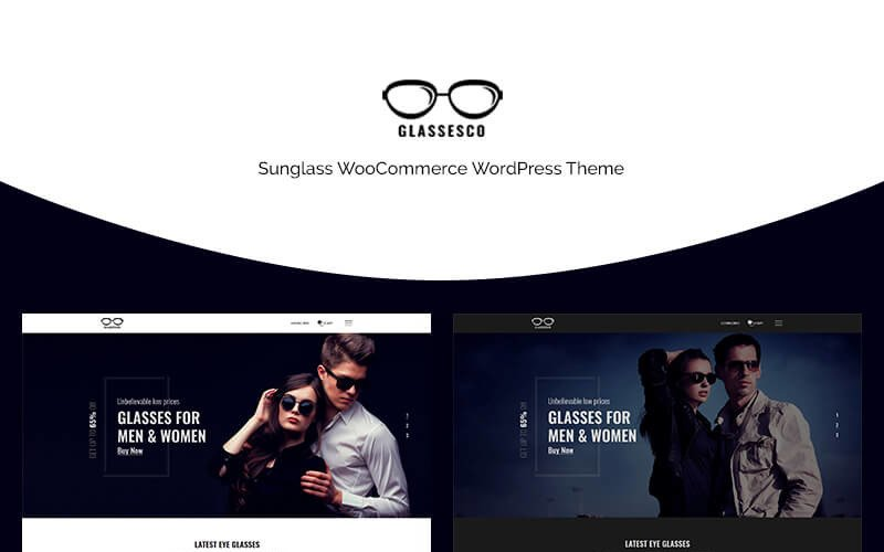 Glassesco - Sunglass WooCommerce Theme