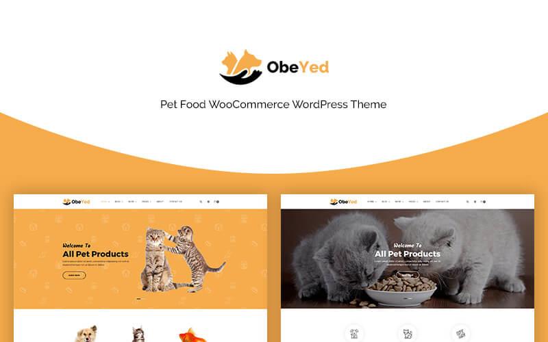 Obeyed - тема WooCommerce для домашних животных