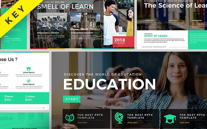 Presentación de educación - Plantilla de Keynote