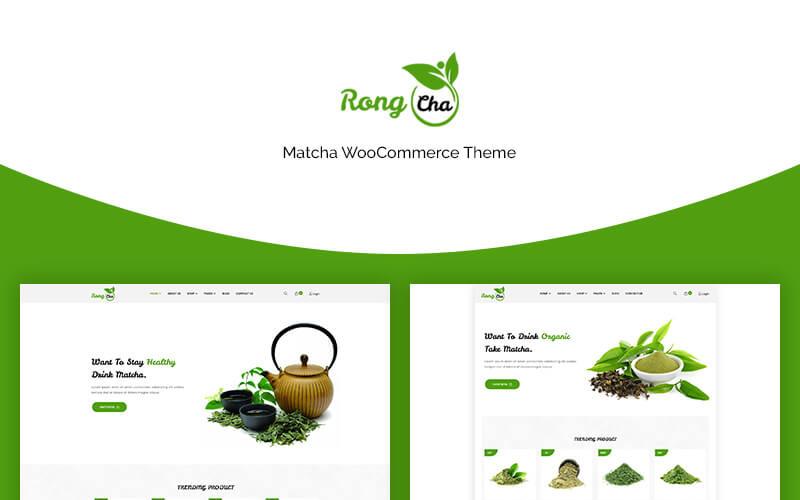 Rongcha - тема Matcha WooCommerce
