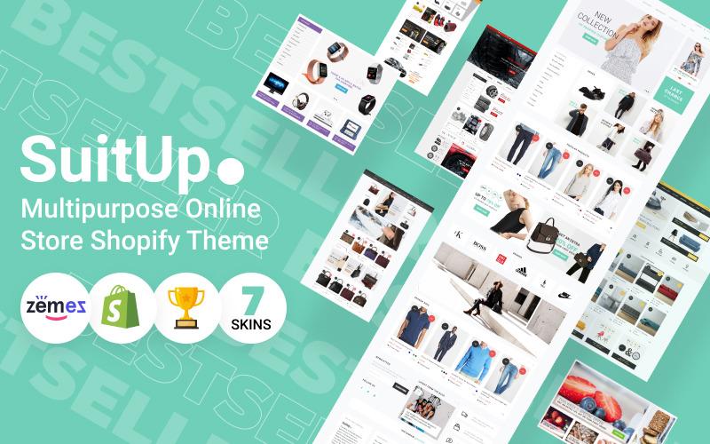 SuitUP - тема Shopify для многоцелевого интернет-магазина