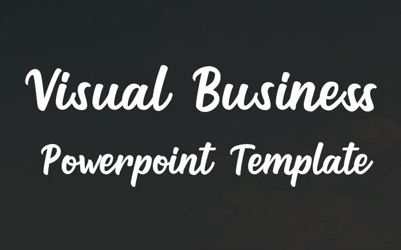 Visuele zaken - PowerPoint-sjabloon