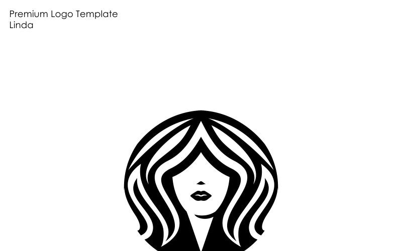 Шаблон логотипа женщин