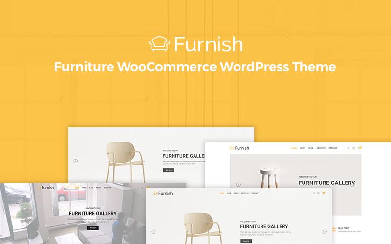 Mobilier - Thème WooCommerce de meubles minimaux