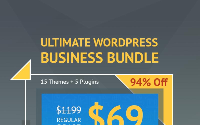 Ultieme WordPress Business-bundel