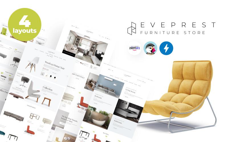 Eveprest Furniture 1.7 - Tema de PrestaShop para tienda de muebles