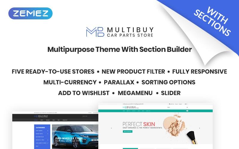 Multibuy - Multipurpose Store Shopify Theme
