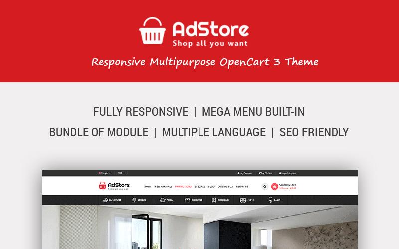 AdStore - Multipurpose Responsive OpenCart Template
