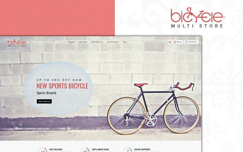 Bicycle MultiStore PrestaShop Theme