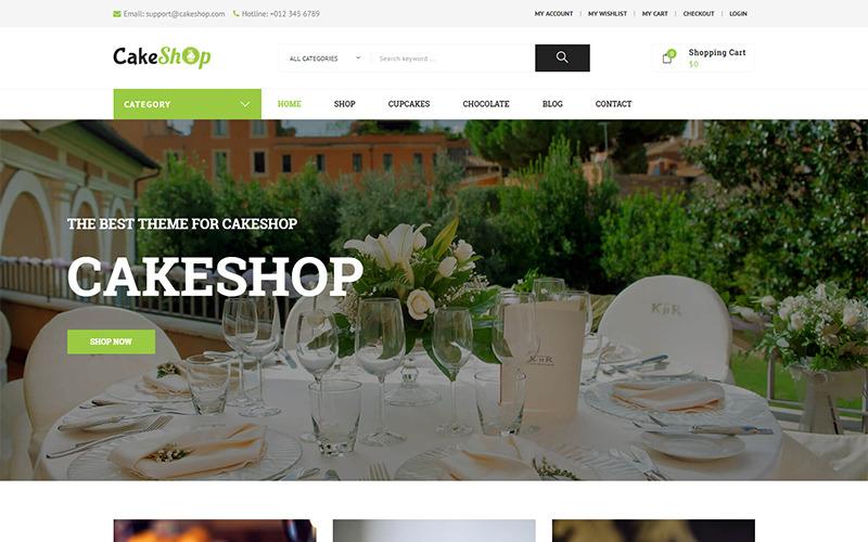 CakeShop – Responsive WooCommerce Theme
