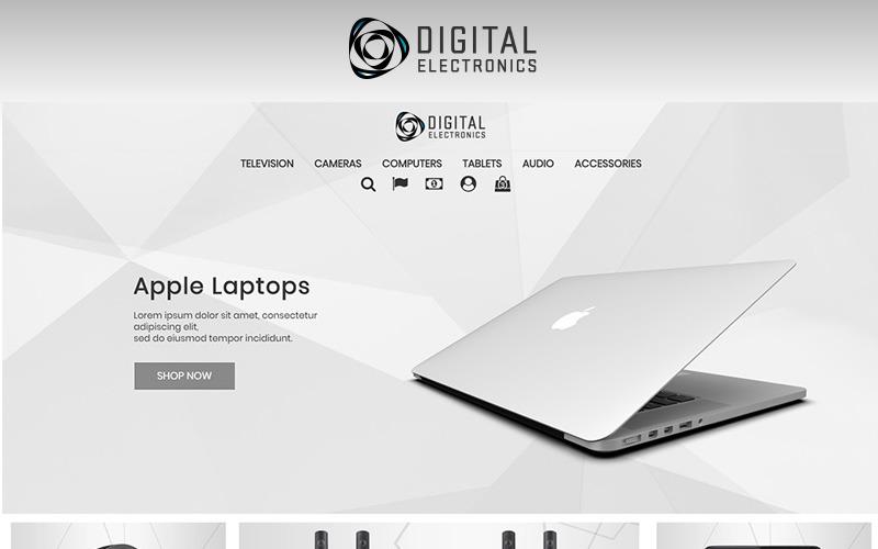 Digitale Elektronicawinkel 1.7 PrestaShop-thema