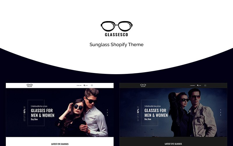 Glassesco - Goggles Shop Shopify Theme