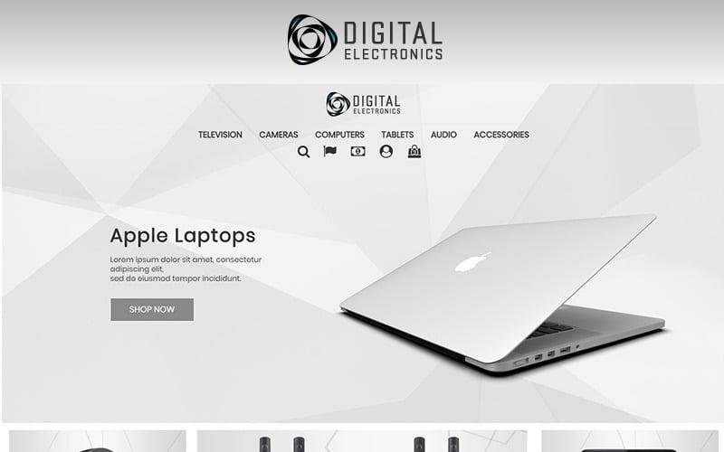 Магазин цифрової електроніки 1.7 Тема PrestaShop