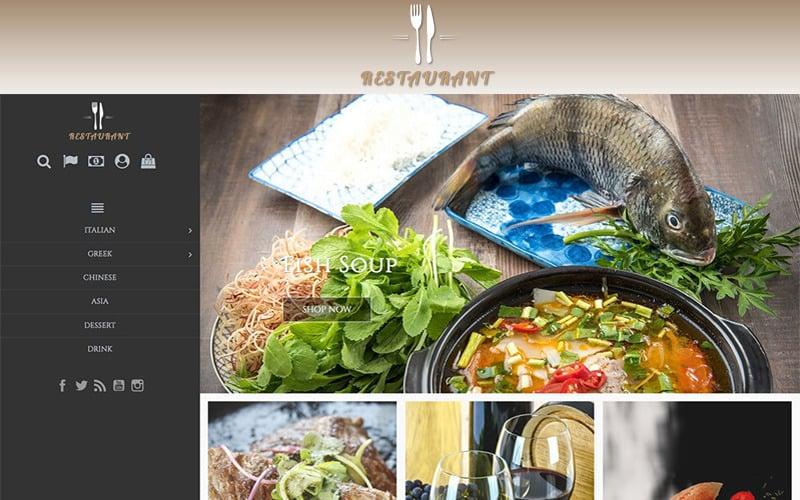 Universal Restaurant 1.7 PrestaShop Theme