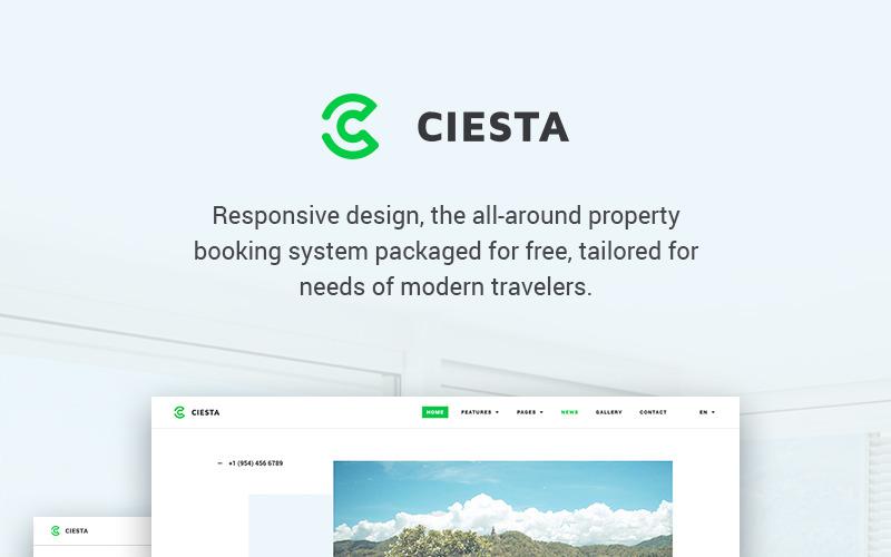 Ciesta - WordPress тема курортного отеля