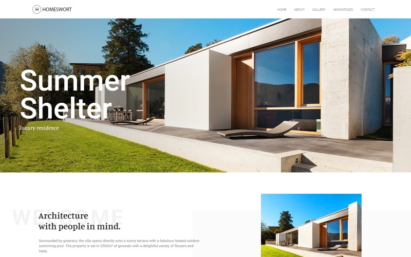 Homeswort - Luxury Real Estate WordPress Elementor Theme