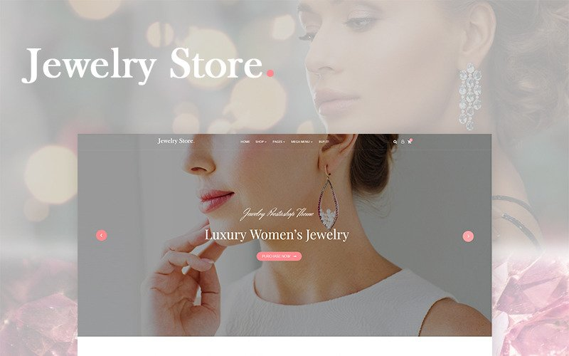 Jewelry - Luxury theme for Jewelry, Ring, Earing and Necklace stores WooCommerce Theme