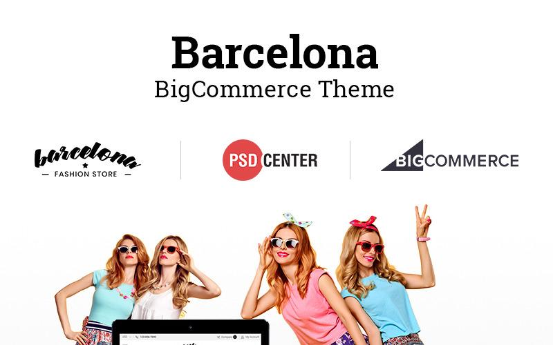 Barcelona BigCommerce Teması