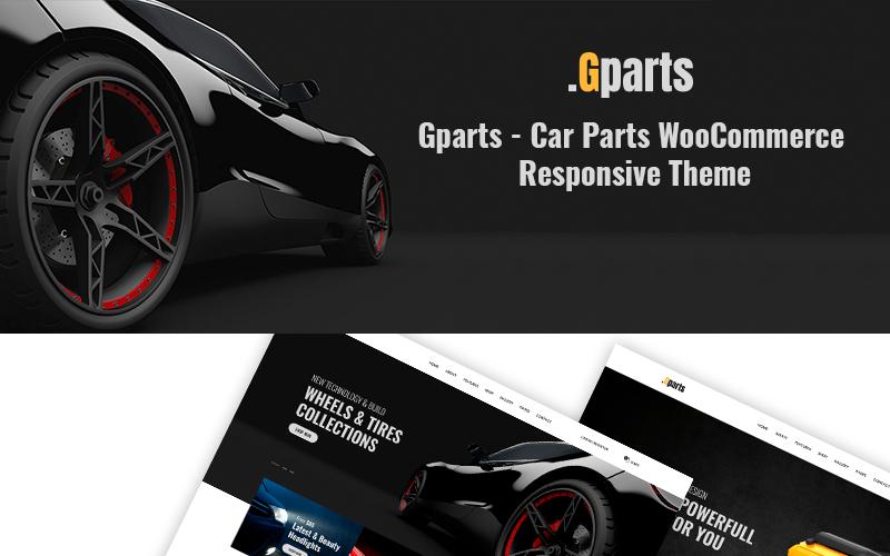 Gparts - Адаптивная тема WooCommerce для автозапчастей