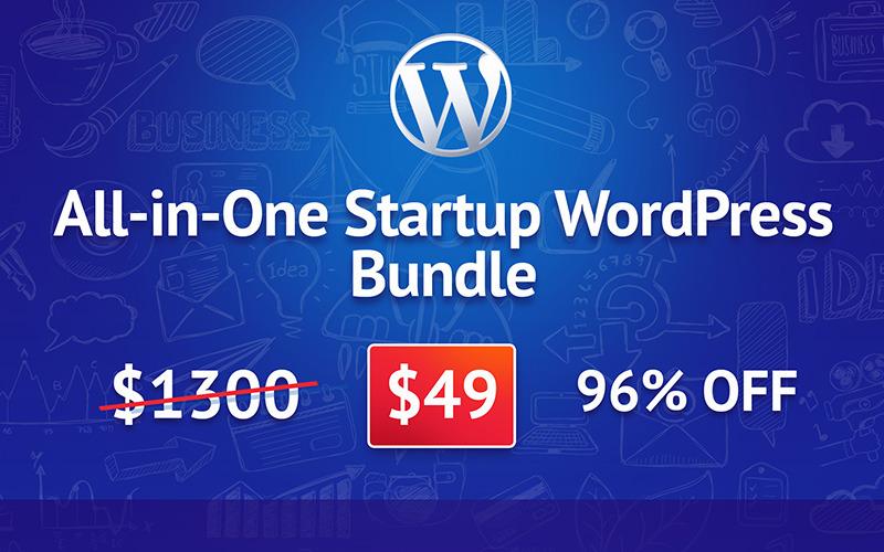 多合一启动WordPress捆绑包