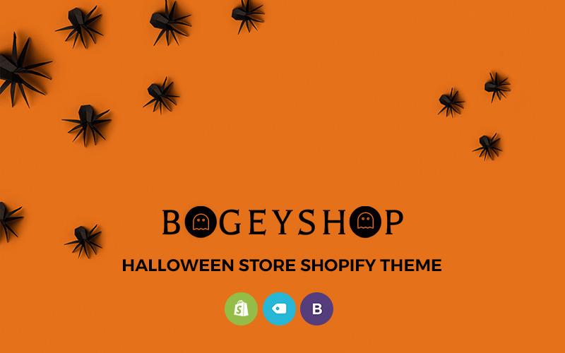 Bogey Shop - Tema elegante do Shopify da loja online de suprimentos para festas