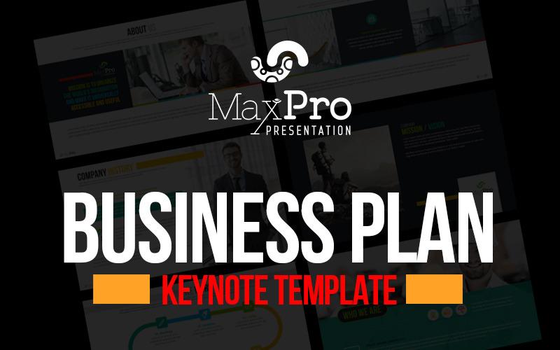 Businessplan-Präsentation - Keynote-Vorlage