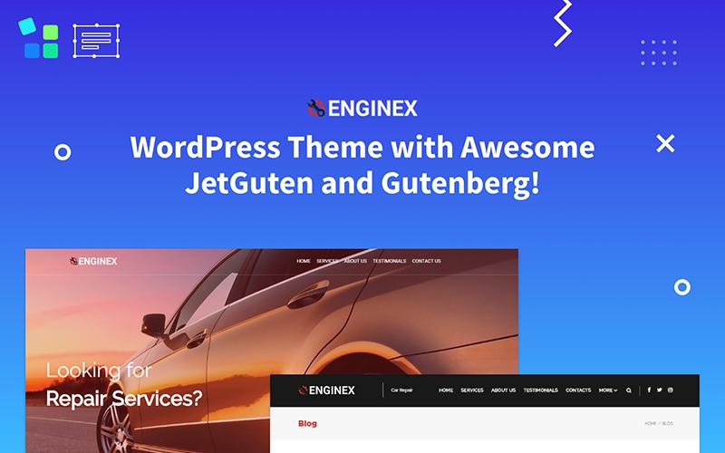 Enginex - Car Repair Gutenberg WordPress Theme