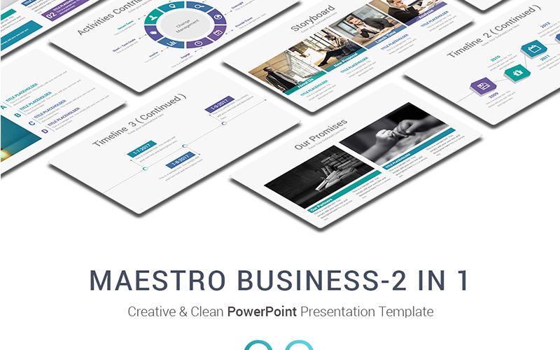 Maestro Business Шаблоны презентаций PowerPoint