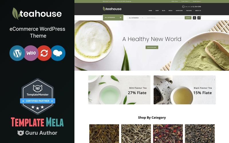 Чайный домик - тема WooCommerce для магазина специй