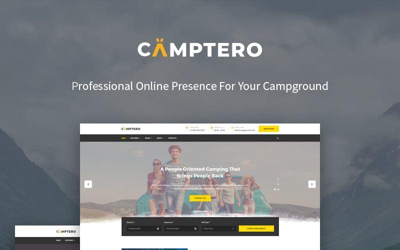 Camping WordPress Theme - Camptero