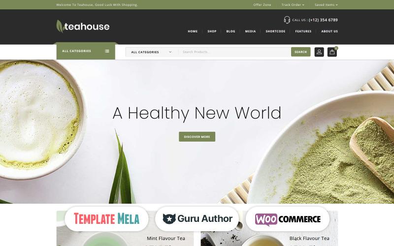 Teahouse - Thème WooCommerce Spice Shop