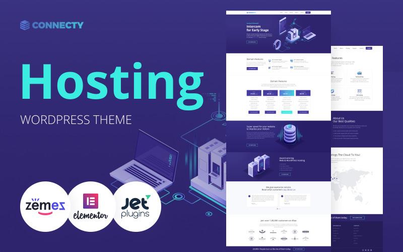 Connecty - Hosting WordPress Elementor Theme