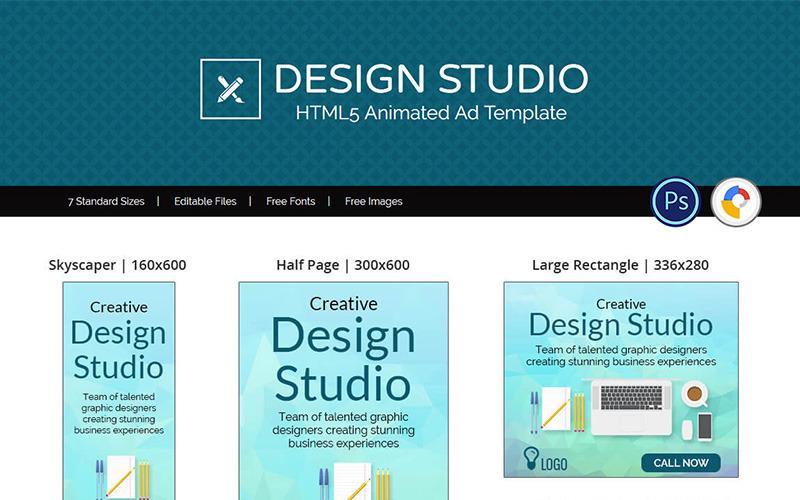 Professional Services | Design Studio Ad Animated Banner