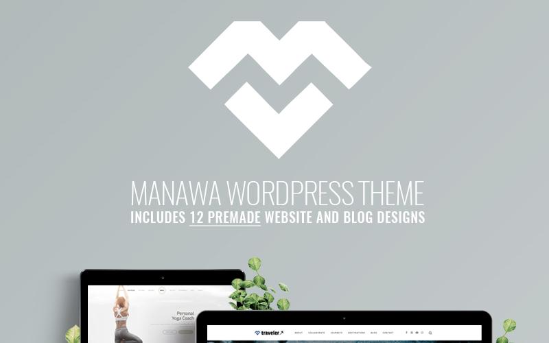 Manawa - Multi-Purpose WordPress theme