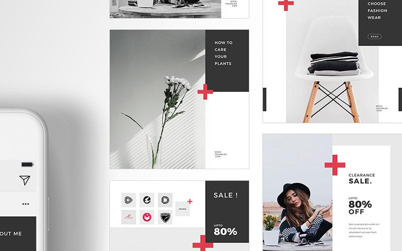 Plusz - Csomagolja be a közösségi média sablont