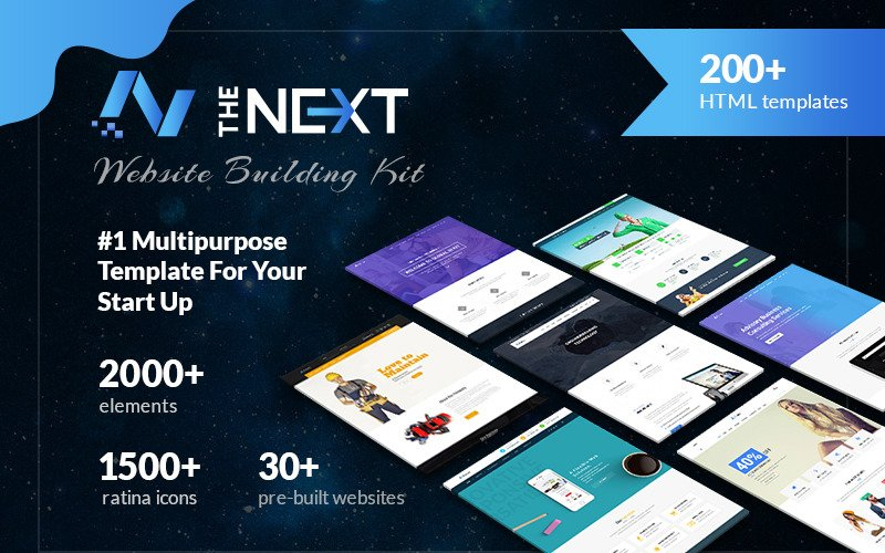 The Next - Creative Multipurpose HTML5 Website Template