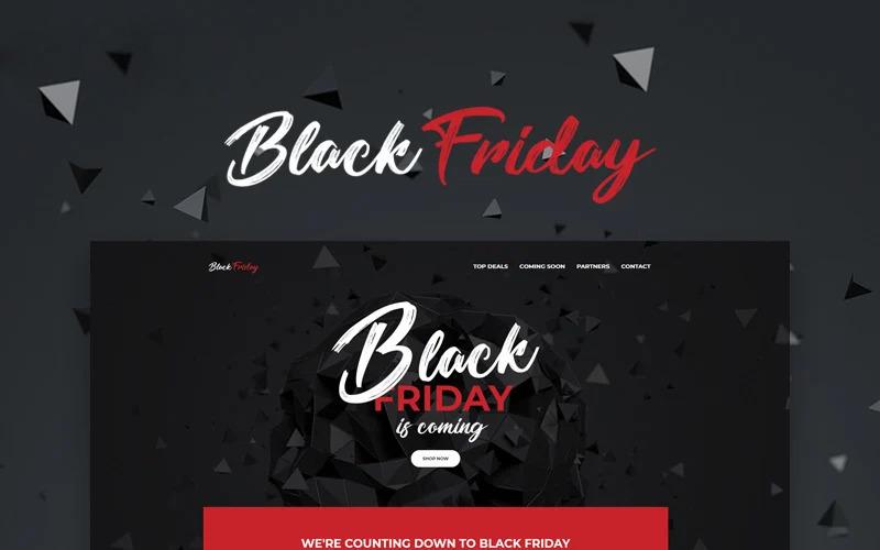 Black Friday - Event Planner WordPress Elementor Theme