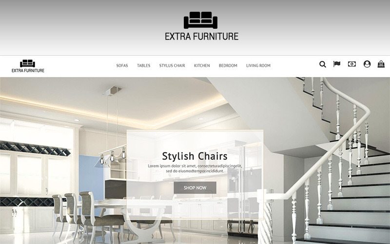 Extra Furniture 1.7 Tema de PrestaShop